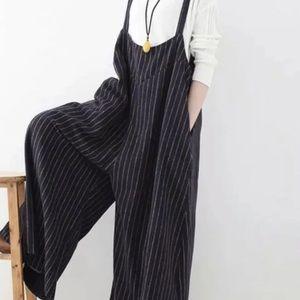 Celmia Striped Jumpsuit